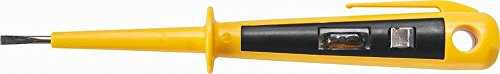 Topex 39D058 Destornillador buscapolo (140 mm, 125-250 V)