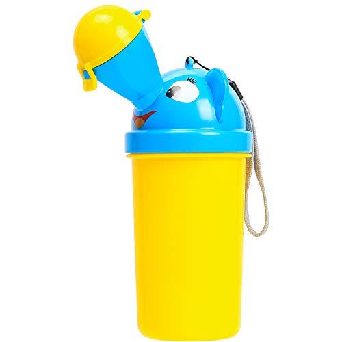 Emoly Orinal portátil para bebé Orinal de Emergencia para Camping, Coche, Viajes y Entrenamiento de Orinal (niños)