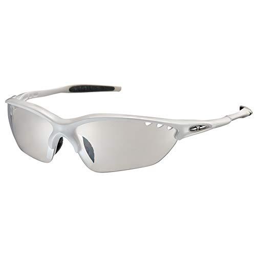 オージーケーカブト(OGK KABUTO) 自転車 スポーツサングラス/アイウエア BINATO-X PHOTOCHROMIC (調光レンズ) ホワイト