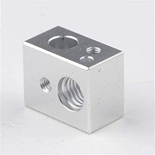Nuevo y Duradero 1 Uds MK10 Bloque Calefactor M7 roscado para Impresora Wanhao 3D termistor versión 3D Piezas de Impresora