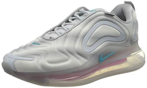 Nike Herren AIR MAX 720 Laufschuh, Wolf Grey Teal Nebula Red Orbit White, 42.5 EU