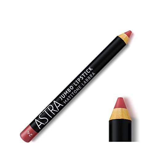 Astra Jumbo Matitone Lipstick Rossetto N.24 Old Rose - 30G, Viola