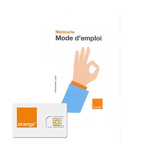 carte sim orange sans engagement mobicarte avec 5 euro de credit