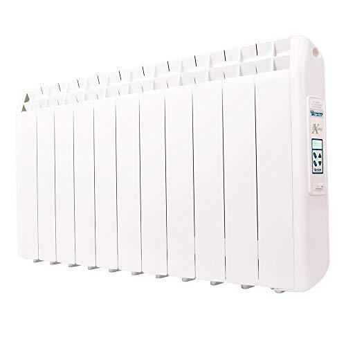 Farho Radiador Electrico XP 1210W (11) · Emisor Térmico con Termostato Digital Programable 24/7 · WIFI Opcional · Radiadores Electricos Bajo Consumo para estancias de hasta 18 m² · 20 AÑOS DE GARANTÍA