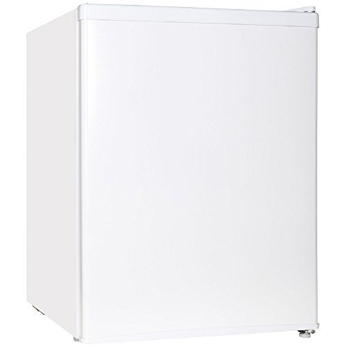 Midea WHS-87LW1 Refrigerator, 2.4 Cubic Feet, White