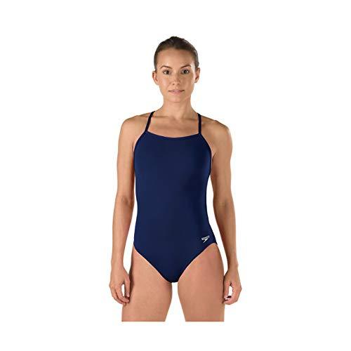 Speedo Women's Standard Swimsuit Piece Endurance The One Solid Team Colors, New Navy, D36