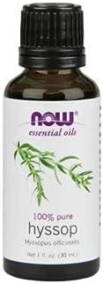 Now Foods Hyssop Oil - 1 Oz. (4 Pack)