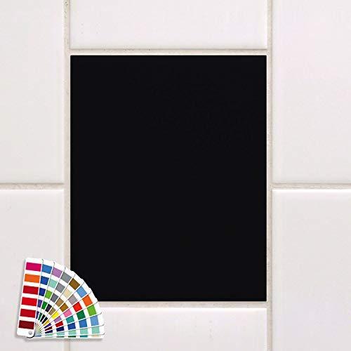 GRAZDesign tegelstickers 20 x 25 cm 70 Stück mat zwart