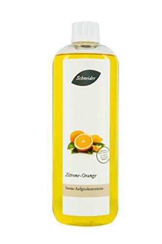 Saunabedarf Schneider - Aufgusskonzentrat, Saunaaufguss Zitrone Orange 250ml