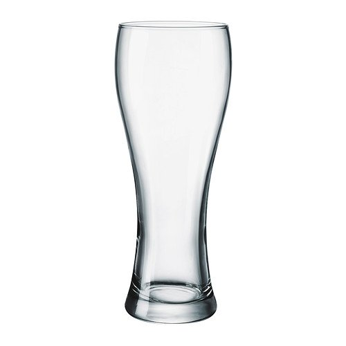 IKEA OANVAND-Bierglas, Glas klar - 63 cl