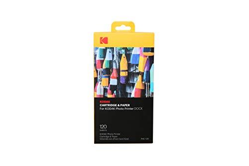 Kodak KPHC-120 Papier de Rechange pour Imprimante Blanc