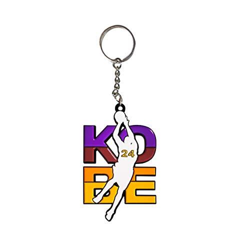 Hat Shark Basketball Sports Athletic Player Kobe #24 - Enamel Metal Pendant Key Chains