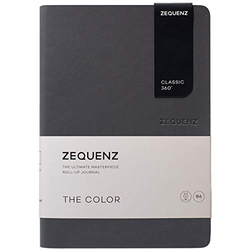 Zequenz Classic 360 The Color B6 Notebook, Dotted, Storm