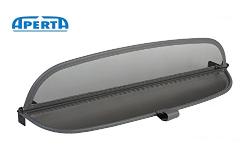 Aperta Windschott passend für Mercedes-Benz SL-Klasse R230 100% Passgenau OEM Qualität Grau Windstop Windabweiser