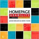Homepage Usability Publisher: New Riders Publishing