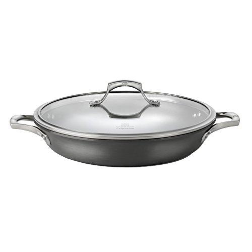 Calphalon Unison Nonstick, Everyday Pan, Gray, 12-inch