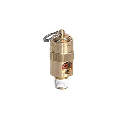 """Midwest Control SRV18-215 ASME Soft Seat Safety Valve, 215 psi, -65 Degree F - 400 Degree F Temperature Range, 1/8"""" by Midwest Control"""