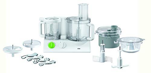 Braun Fx3030 Robot da Cucina, 600 W, 35 Decibel, Bianco