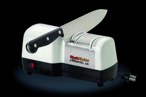 Aiguiseur électrique H220 professionnel. Convient pour l'aiguisage de couteaux à lame lisse ou crantée.