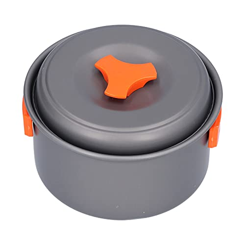 Kit de Cuchara de Olla para sartén, confiable de Usar, fácil de Transportar, Kit de Utensilios de Cocina para Acampar para cocinar al Vapor, hervir y freír Alimentos