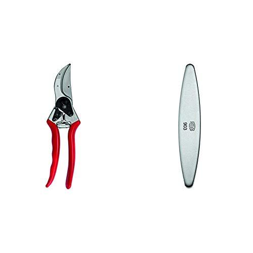 FELCO N.2, Forbici per Potatura, Rosso, & 154261 Nr.903 - Affilatore
