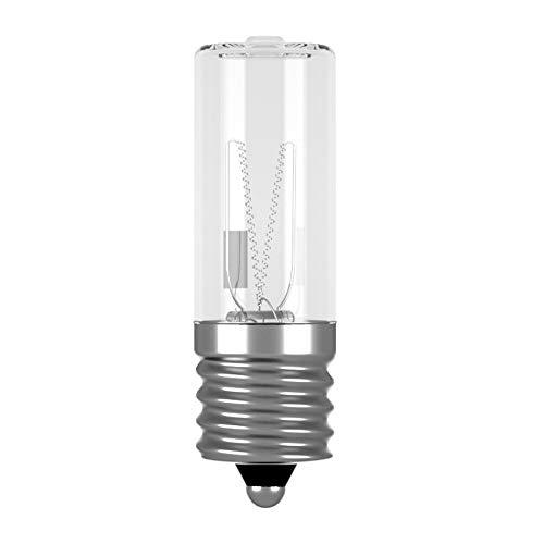 E17 UV Lampe Sterilisator Glühbirne 3W 10V UVC Ersatzlampe Sterilisieren Keimtötende Quarz Lampe UVC Light Bulb E17 3W Disinfectant (1 Stück ) BQHY (UVC0X03)