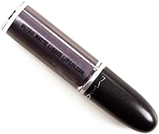 MAC Retro Matte Liquid Lip Colour Metallic # Silver Spoon