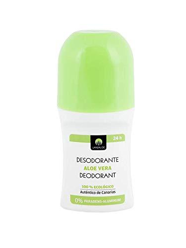 Lanzaloe Desodorante 100% Ecológico (Roll-On) 75 ml