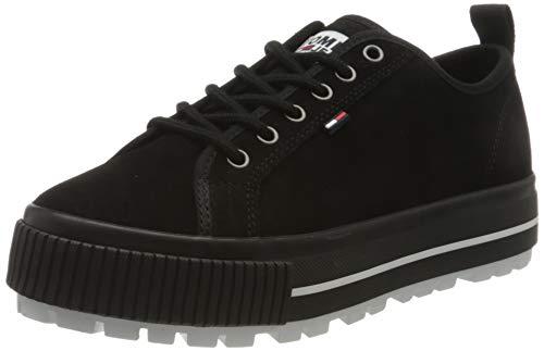 Tommy Hilfiger Damen Paige 4b Sneaker, Schwarz (Black Bds), 37 EU