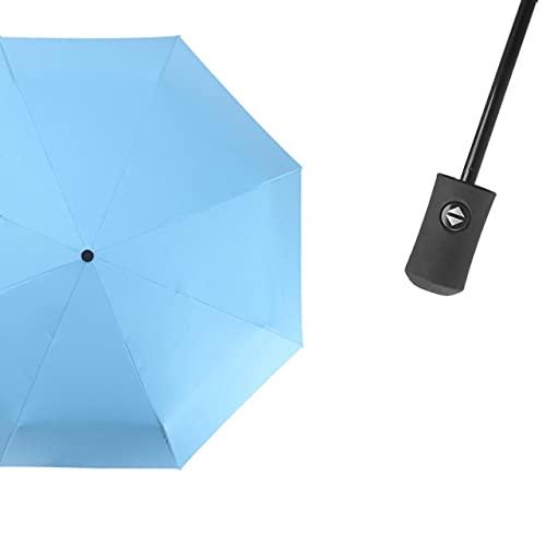 Paraguas plegable automático resistente al viento para hombres y mujeres, mini lluvia, cortavientos, para hombres y mujeres, revestimiento negro