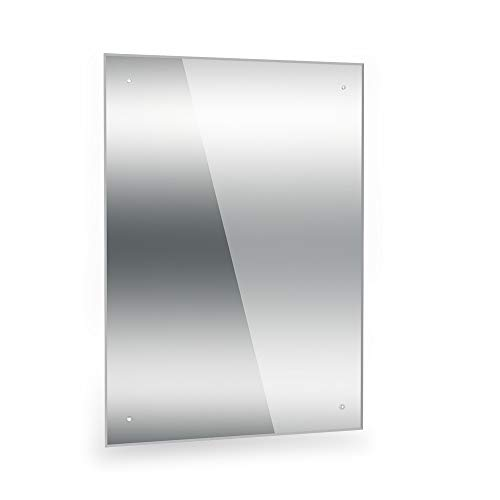 Dripex Frameless Bathroom Mirror...