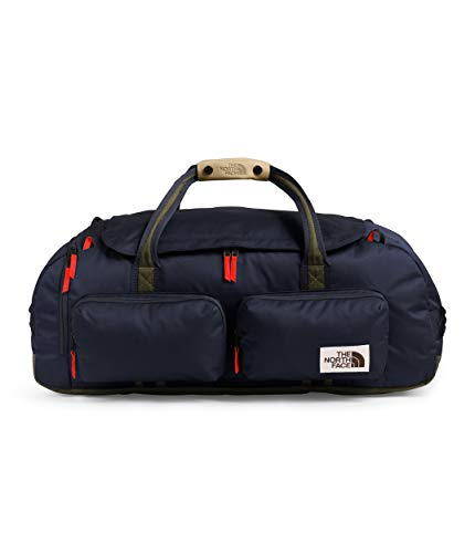 The North Face Berkeley Duffel—L, Aviator Navy Light Heather/New Taupe Green, OS