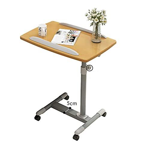 WECDS Mesa De Estación De Trabajo Portátil De Escritorio De Pie Ajustable para Oficina En Casa Estructura Estable Ajustable En Altura