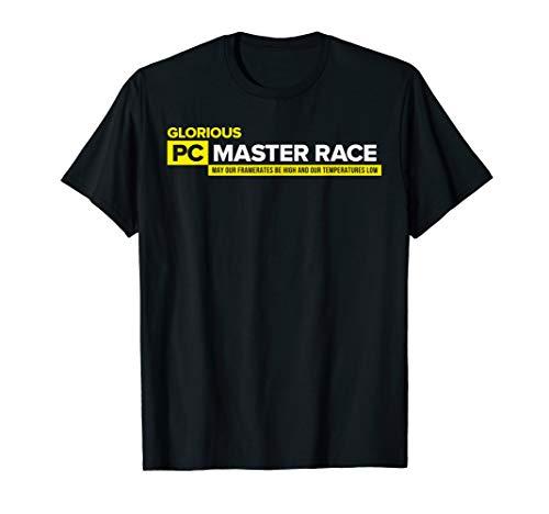 PC Master Race Tshirt - PC Gaming & Video Game Saying