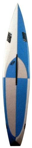 Surftech Mini-Mitcho 0906 Pro-Elite Stand Up Paddle Board, Light Blue/Grey, 9-Feet 6-Inch...