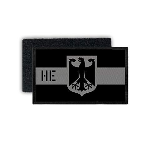 Copytec Patch Bundesland Hessen SEK Polizei Einheit Dienstpatch Land 7,5x4,5cm #31200