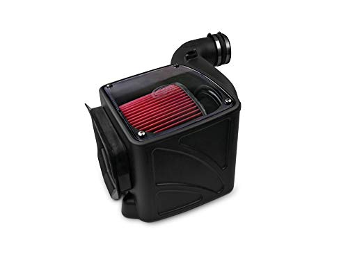 S&B Filters 75-5080 Cold Air Intake For 2006-2007 Chevy/GMC Duramax LLY-LBZ 6.6L (Oiled Cleanable, 8-ply Cotton Filter)