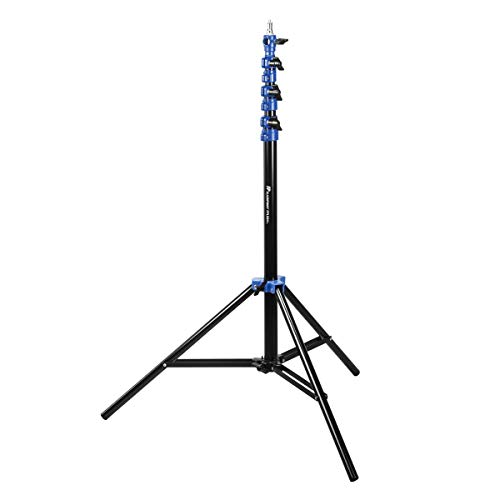 Flashpoint Pro Air-Cushioned Heavy-Duty Light Stand (Blue, 9.5')