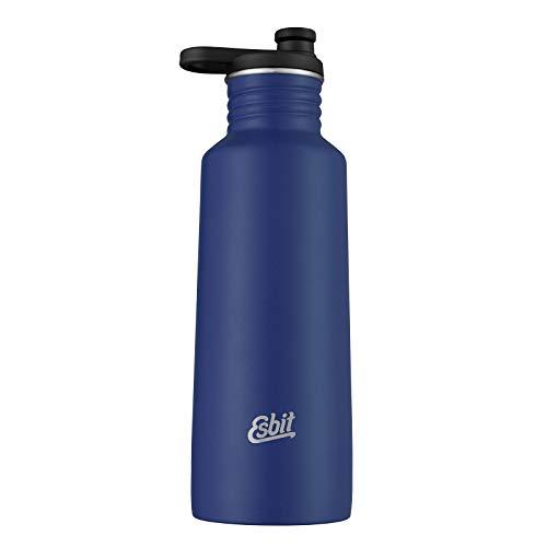Esbit Unisex– Erwachsene Sporttrinkflasche Pictor, Edelstahl, Water Blue, 0.75L