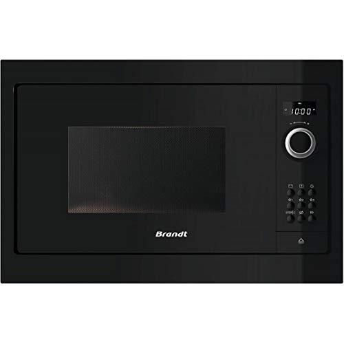 Micro ondes Encastrable Brandt BMS6115B - Micro-Ondes Integrable Noir - 26 litres - 900 W
