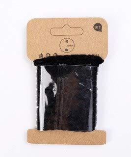 SUMEN 5 mm* 3 yardas de terciopelo cuerda trenzada de cuero para bricolaje Handmde artesanía pulsera collar cadena joyería hacer decoración Cords Accesorios