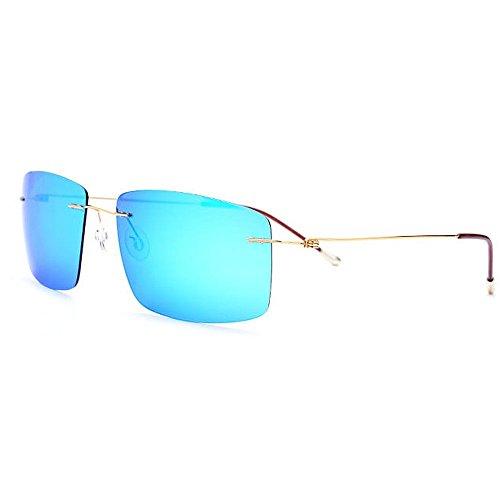Ppy778 Gafas de Sol aviadoras para Hombre para Mujer polarizadas, 400 Colores de protección UV