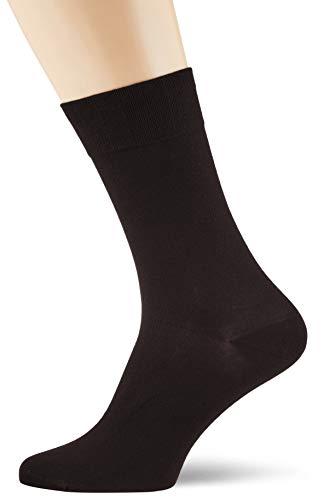 Nur Der Herren Bambus Komfort Socken, Schwarz (schwarz), 43/46 (43-46)