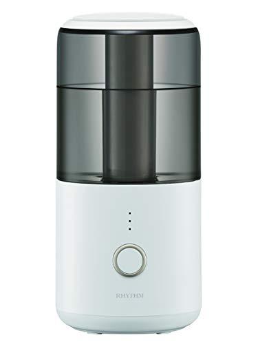 リズム(RHYTHM) デザイン小物 白 19.7x9x9cm コンパクト 卓上 加湿器 MIST100 9YY017SR03