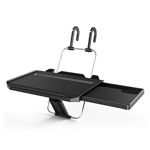 Pvnoocy Escritorio para volante de coche, bandeja para ordenador portátil, soporte portátil para portátil, mesa para comer alimentos y aperitivos
