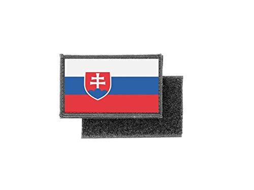 Aufnäher patch aufbügler gedruckt flagge fahne slowakei slowakische