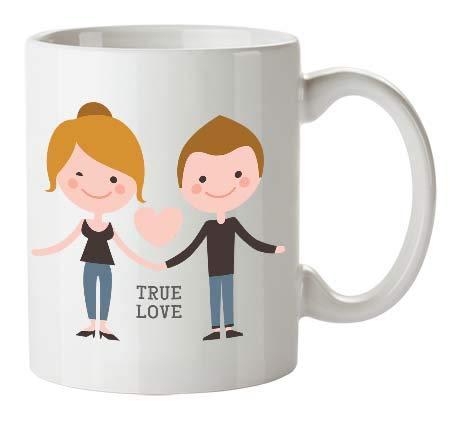 Kembilove Tazas de Desayuno para Parejas – Taza de Café con Frase Divertida y Graciosa para Enamorados True Love Hombre y Mujer – Tazas para Regalar el día de San Valentín