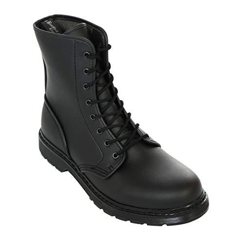 Boots & Braces - easy 8 Loch Vegetarian Black Stiefel Rangers Schwarz Größe 45 (UK11)