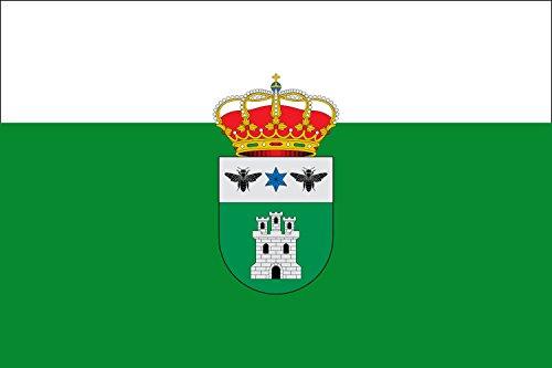 magFlags Bandera Large Arroba de los Montes, Ciudad Real, España   Bandera Paisaje   1.35m²   90x150cm