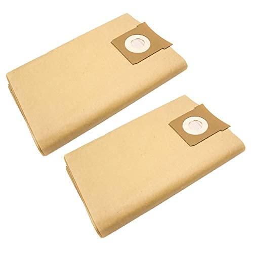 vhbw 20x bolsa compatible con Quigg NTS 1000 aspiradora - papel, marrón
